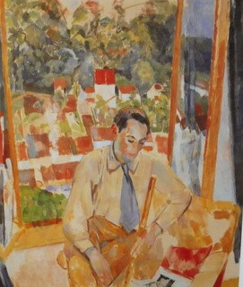 "Fig. 4: Rik Wouters: ""De fluitspeler"" 1915)"