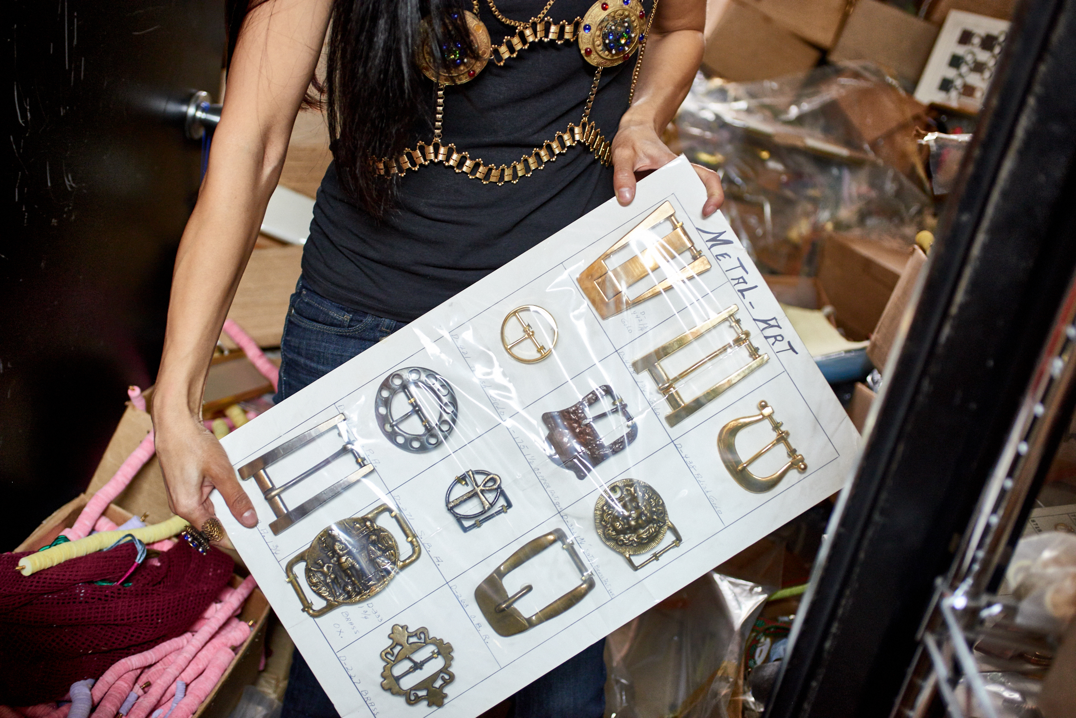 Elyse sold these vintage belt buckles for $3 each, totaling $2,000 in sales. Later on, she saw them being sold at a tradeshow for $200 each. Elyse wanted increase the price but her father told her not to. As long as everyone is happy and believes they are getting a deal, everyone wins.