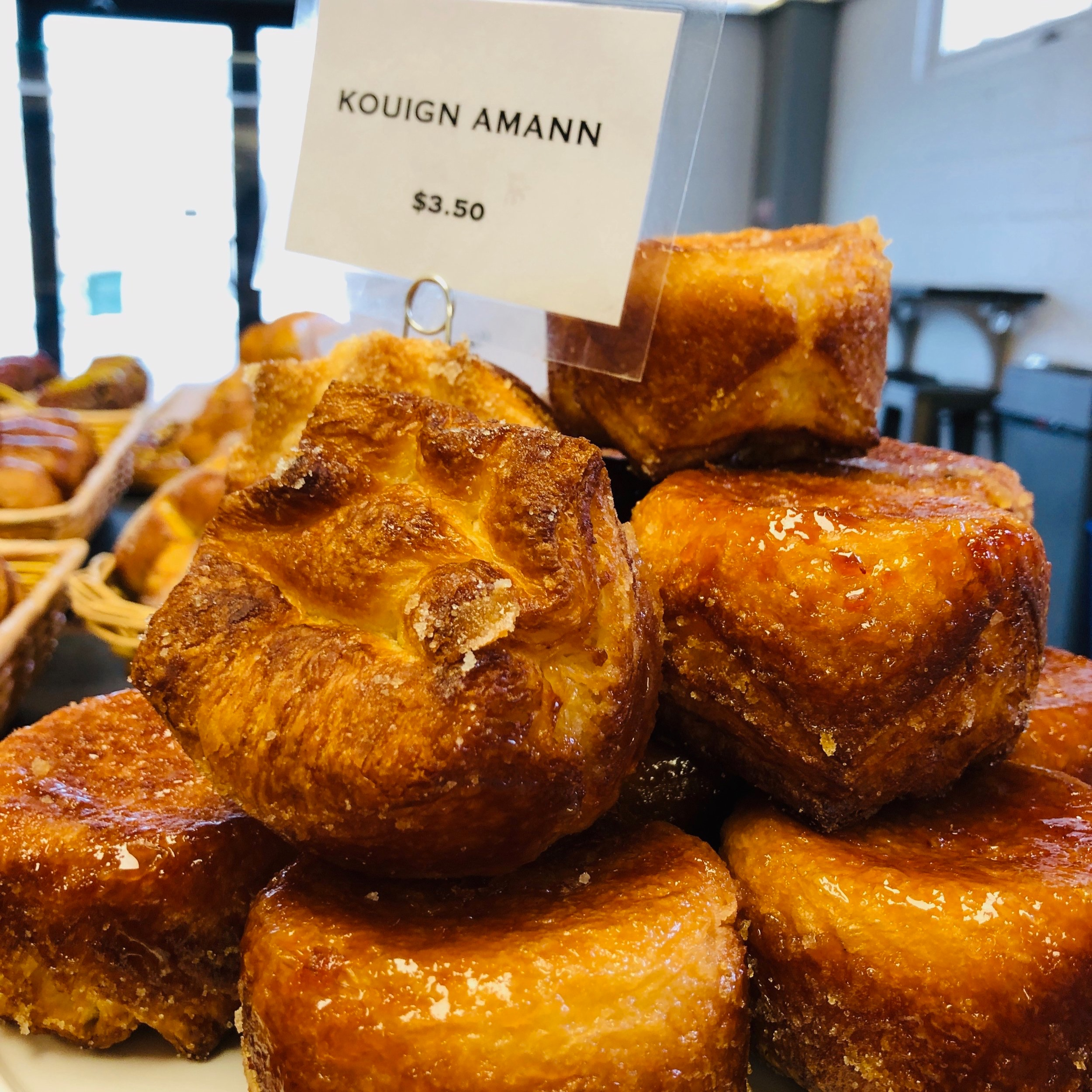 We specialize in creative, French-inspired viennoiserie and pastry. Using traditional techniques and high quality butter, we make croissant, brioche, and lesser known regional specialties daily. Click for  gallery  or  menu .