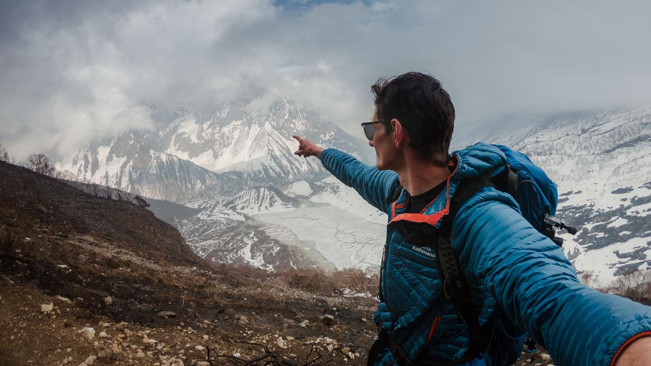 Birendra Lake (  Birendra Tal  ), Manaslu Glacier in Gorkha District.