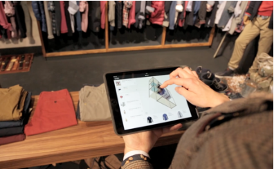 A simple right click and 'publish' sends the merchandising guidelines to the specified store cluster where the in-store user has a perfect 3D overview of what needs to be merchandised - and where