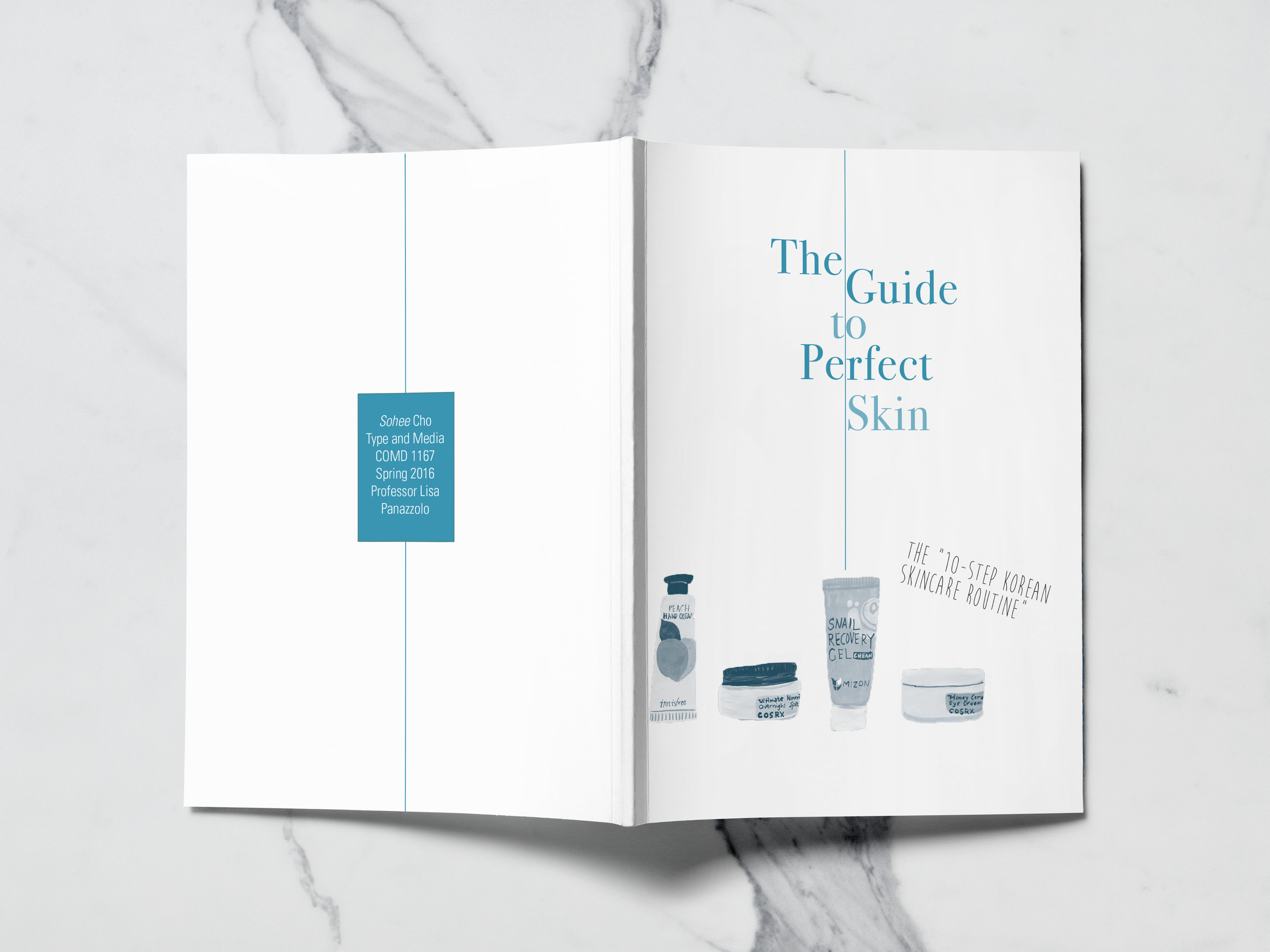Front & Back Cover from  Perfect Skin