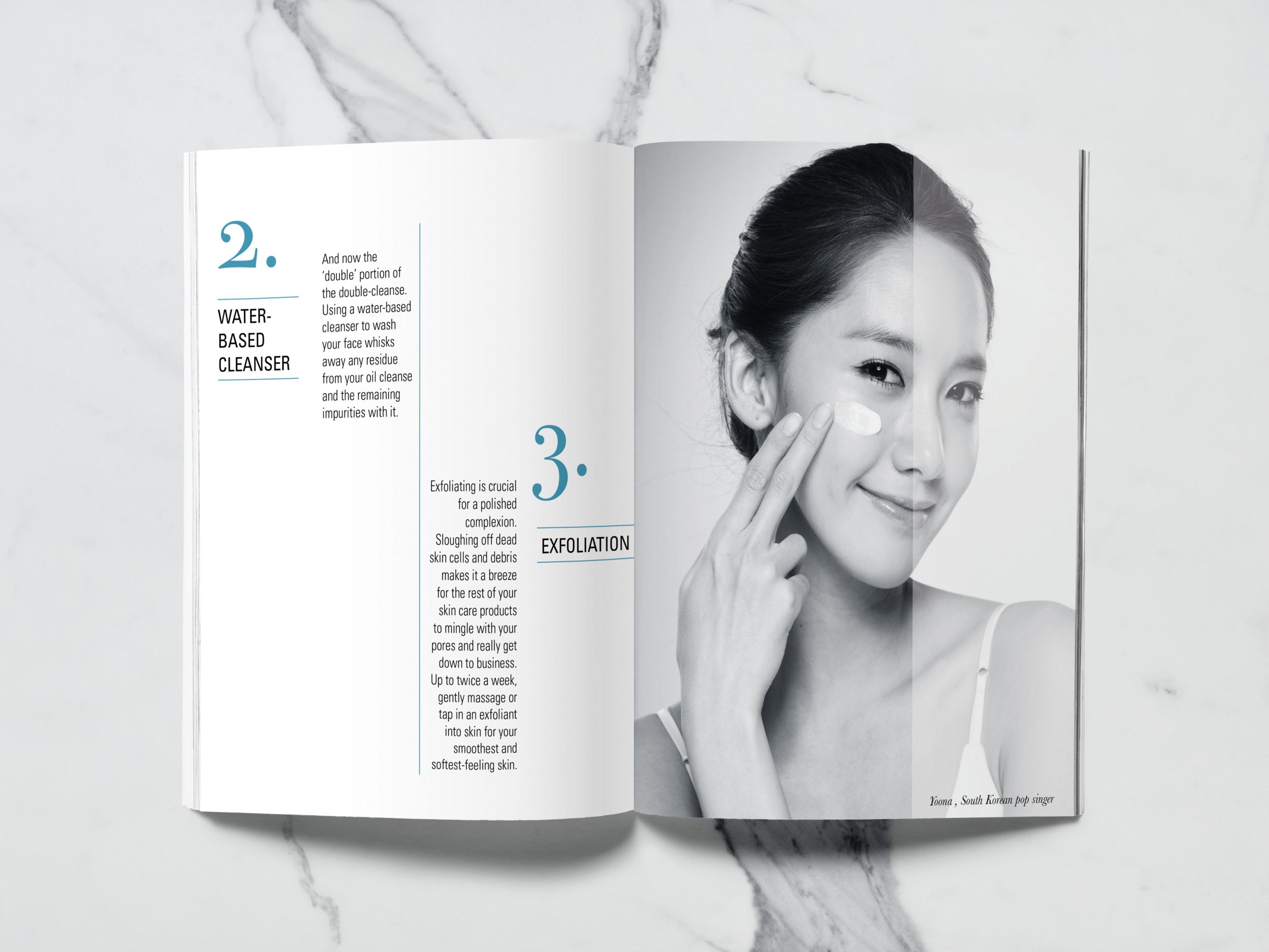 Inside Page from  Perfect Skin