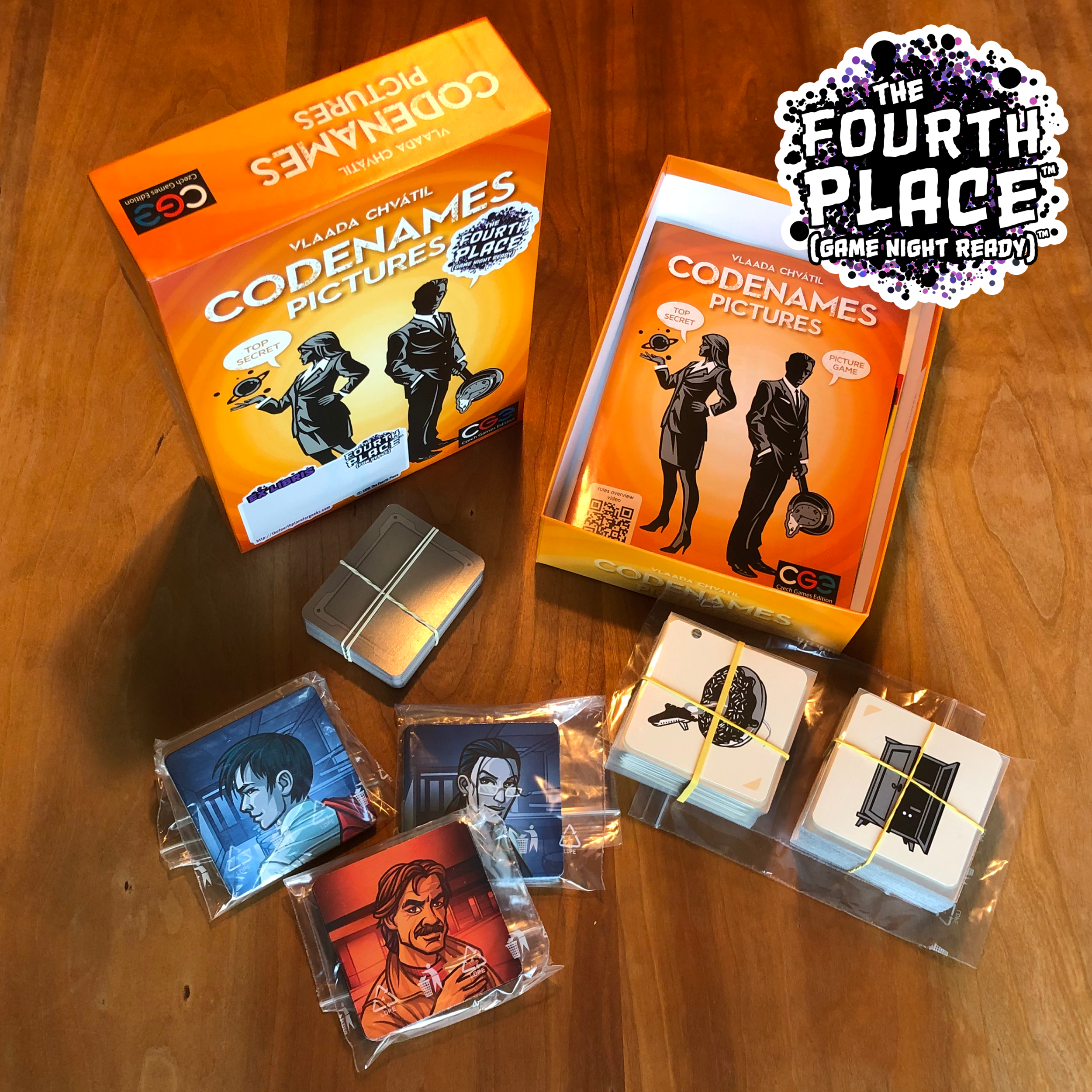 Copy of Codenames: Pictures (Game Night Ready)™ Edition