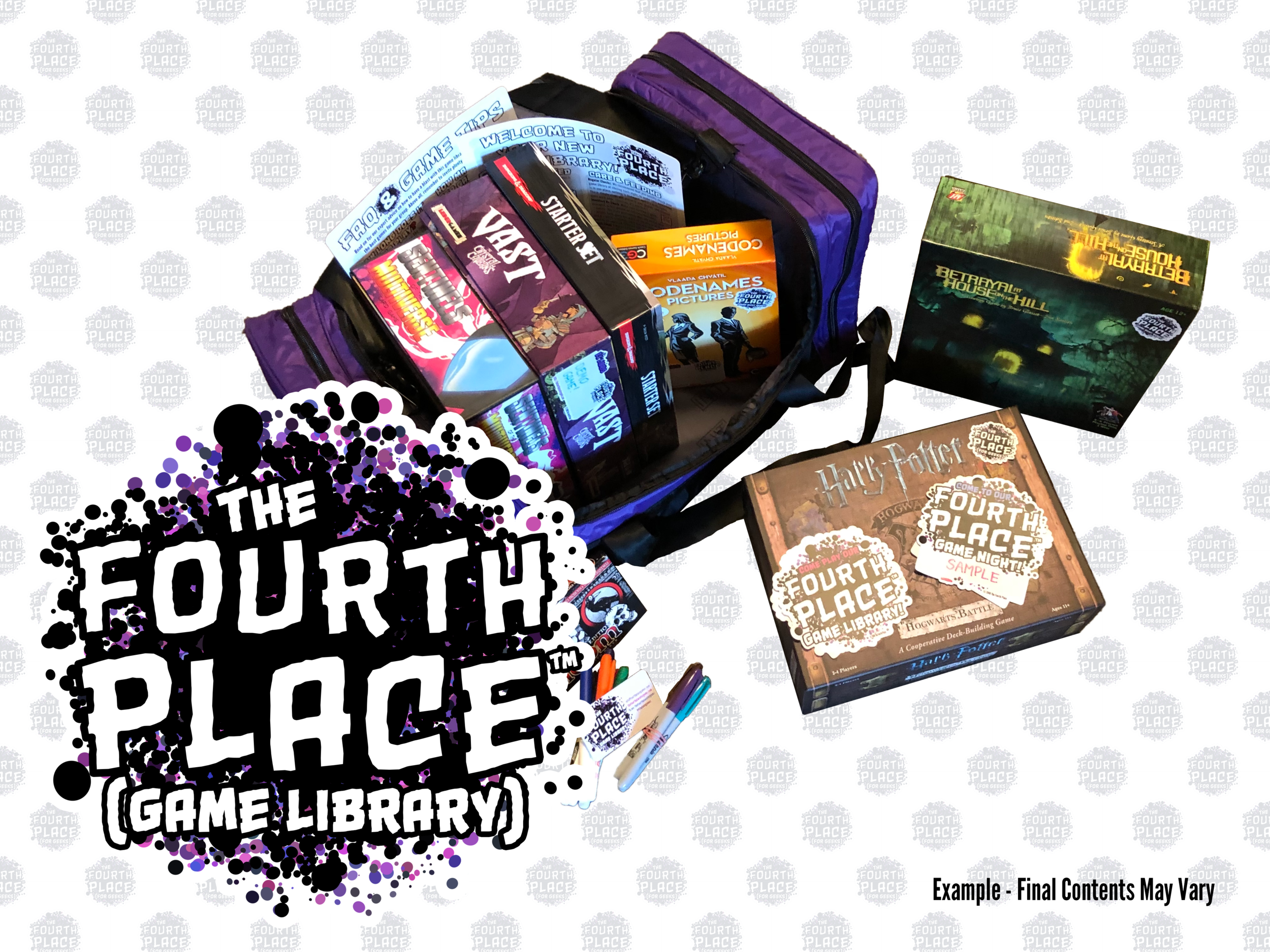 Board Game Night (In a Bag) for Businesses
