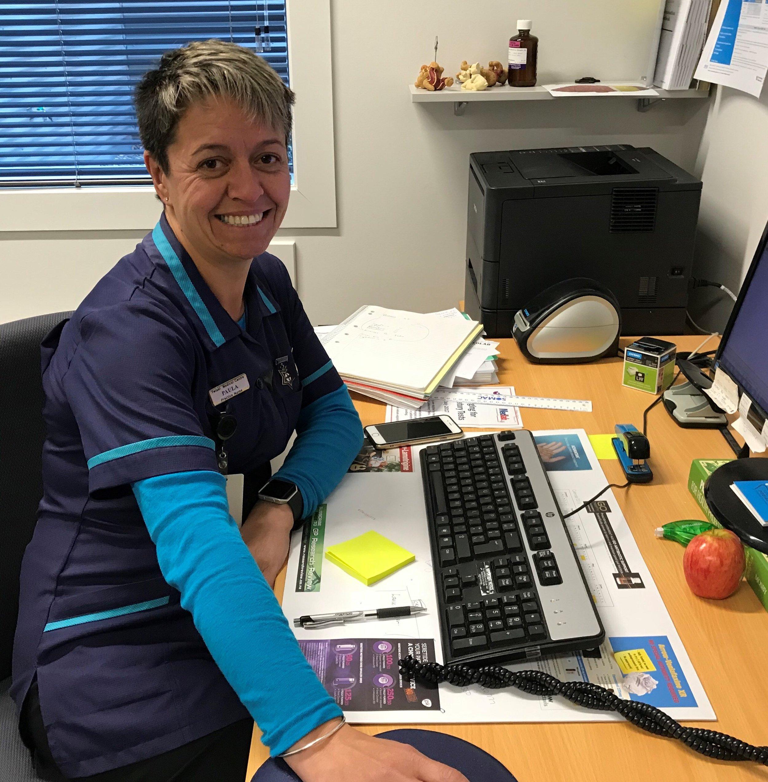 Lead Nurse, Paula Trembath