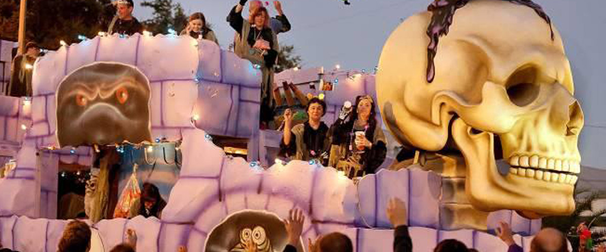 Where Y'At - Krewe of BOO! Revamps The Throw Tradition