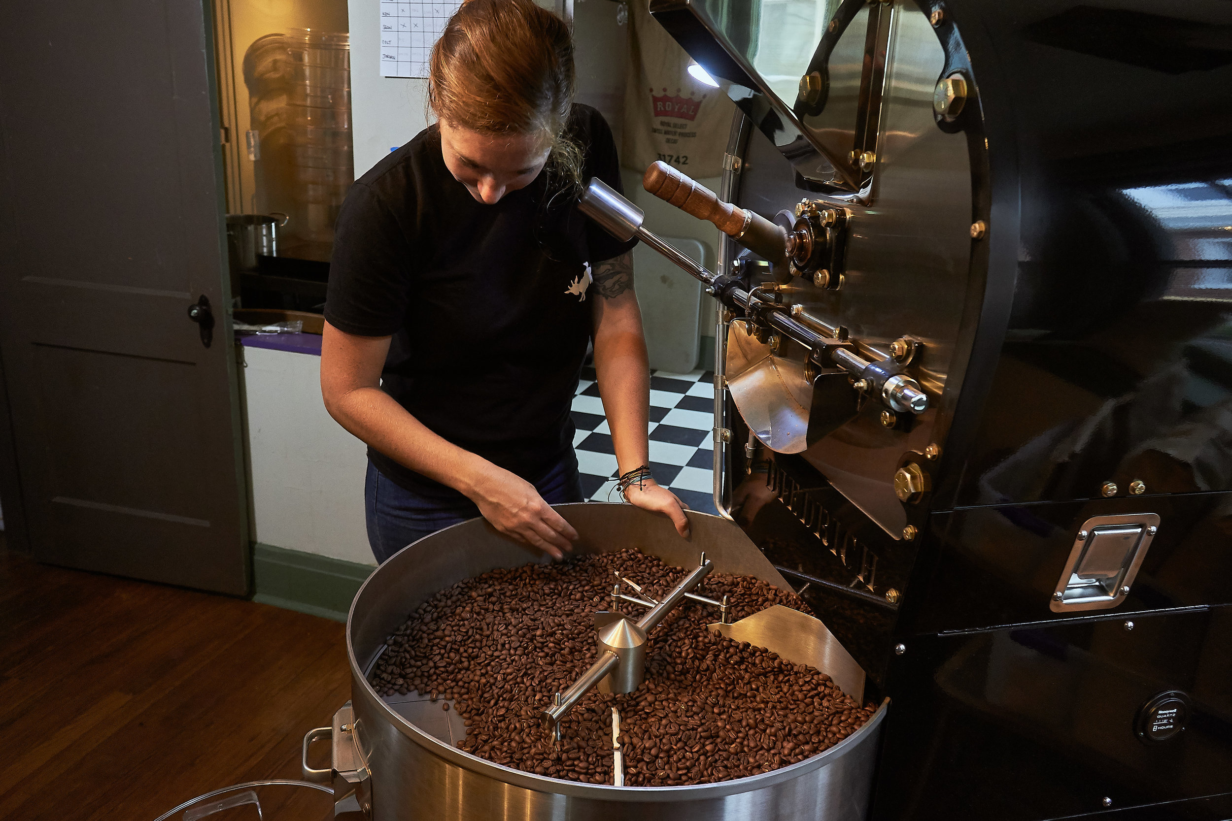Small batch roasting allows for the utmost quality control.
