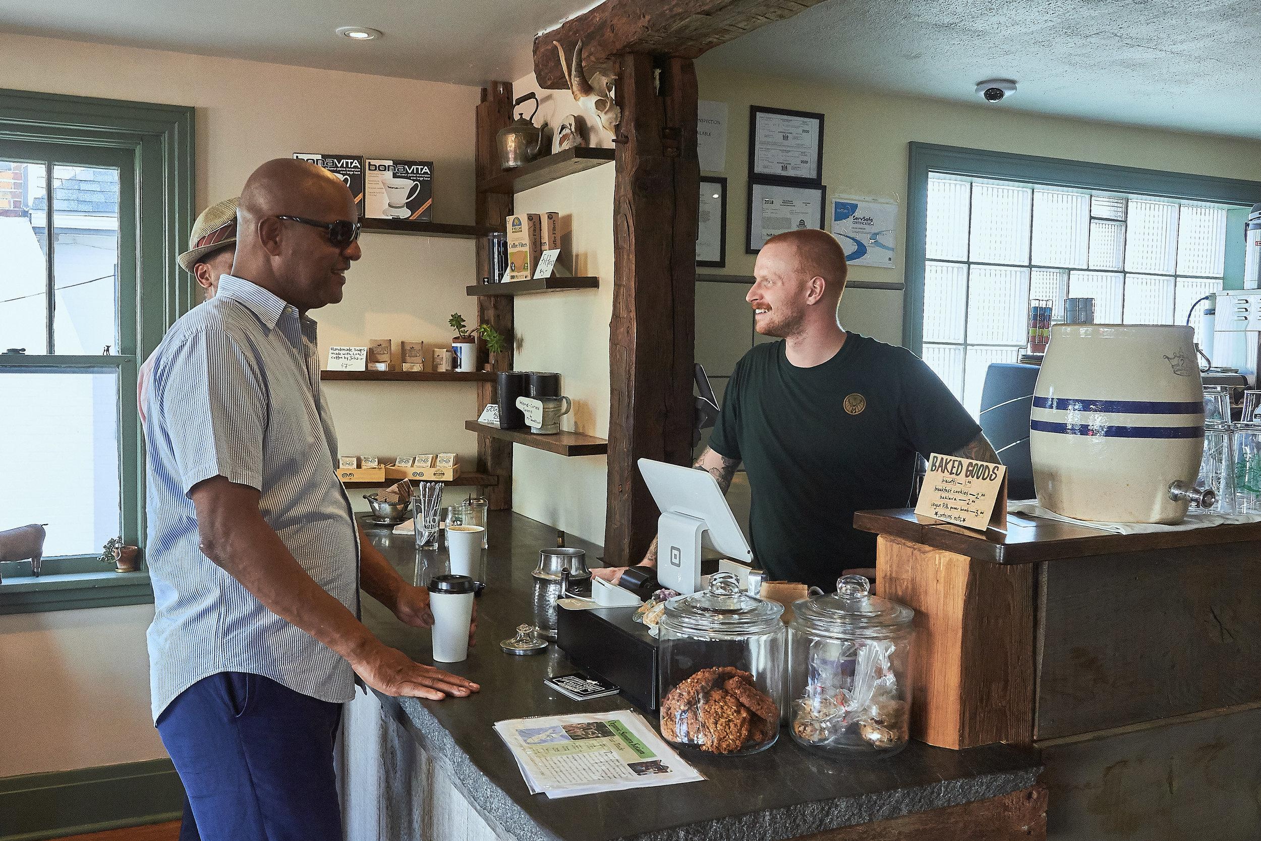 - providing Newark freshly brewed coffee daily