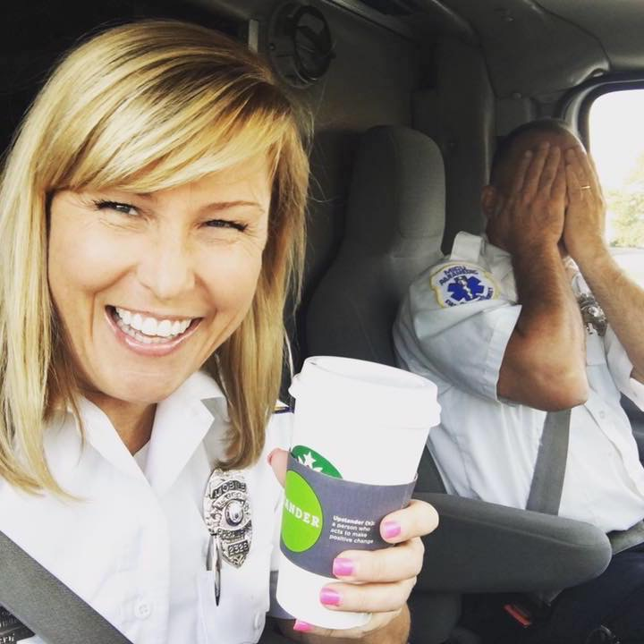 Paramedic Coffee Selfie!!