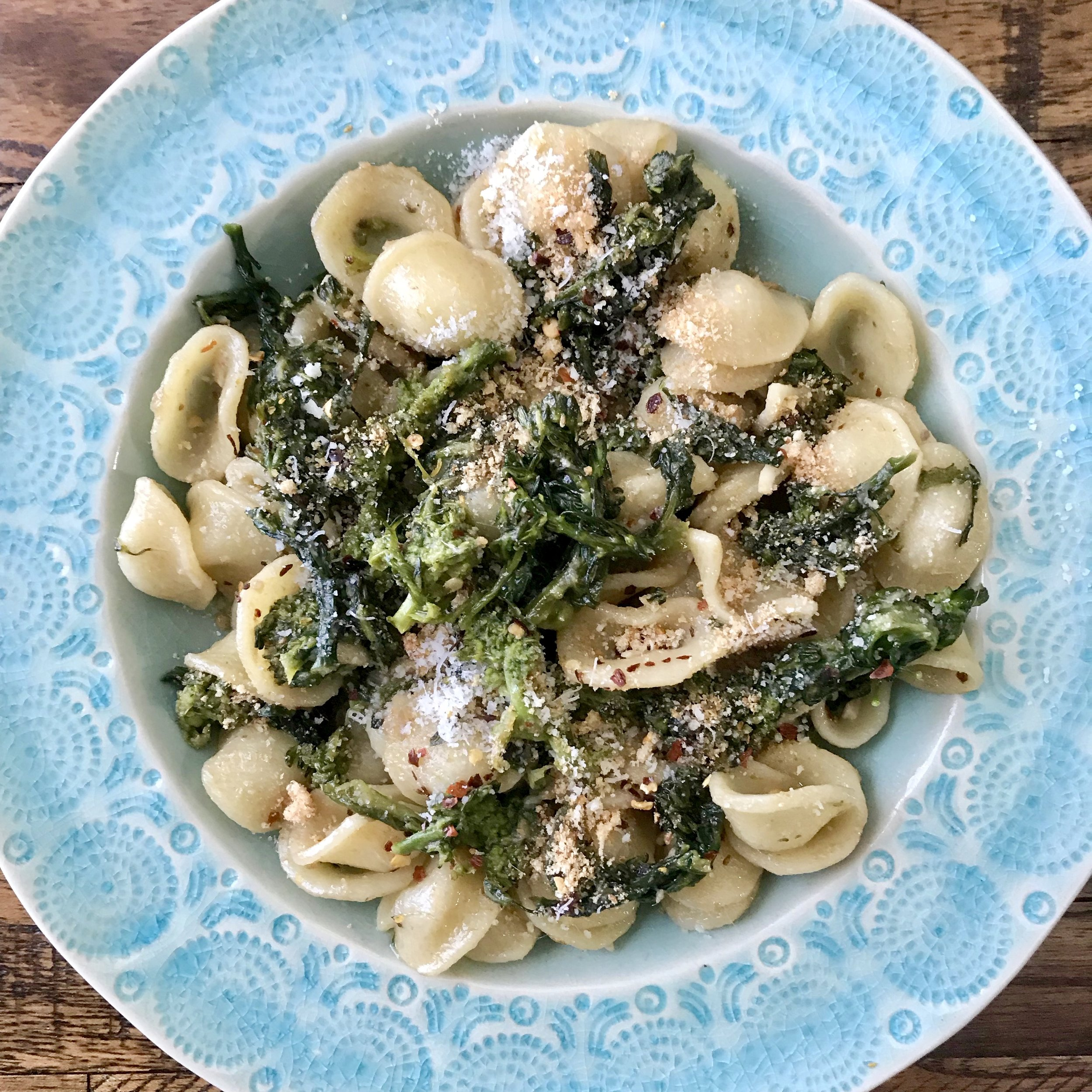 BROCCOLI RABE PASTA -