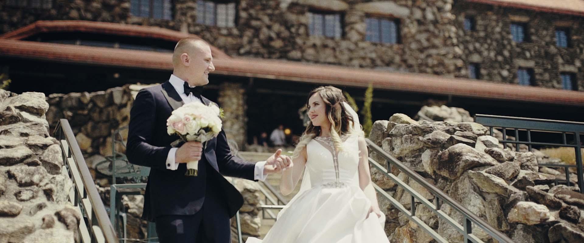 WEDDING AT THE OMNI GROVE PARK INN, ASHEVILLE NC