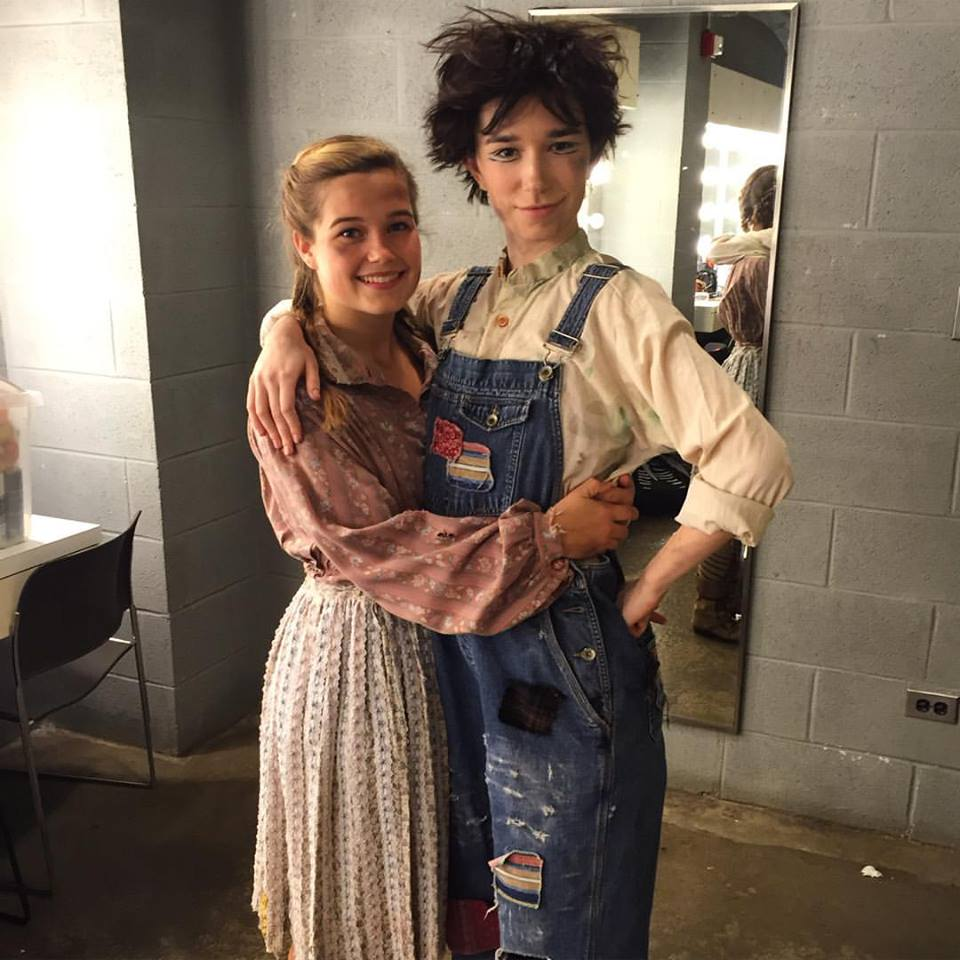 Hansel and Gretel (backstage) 2015