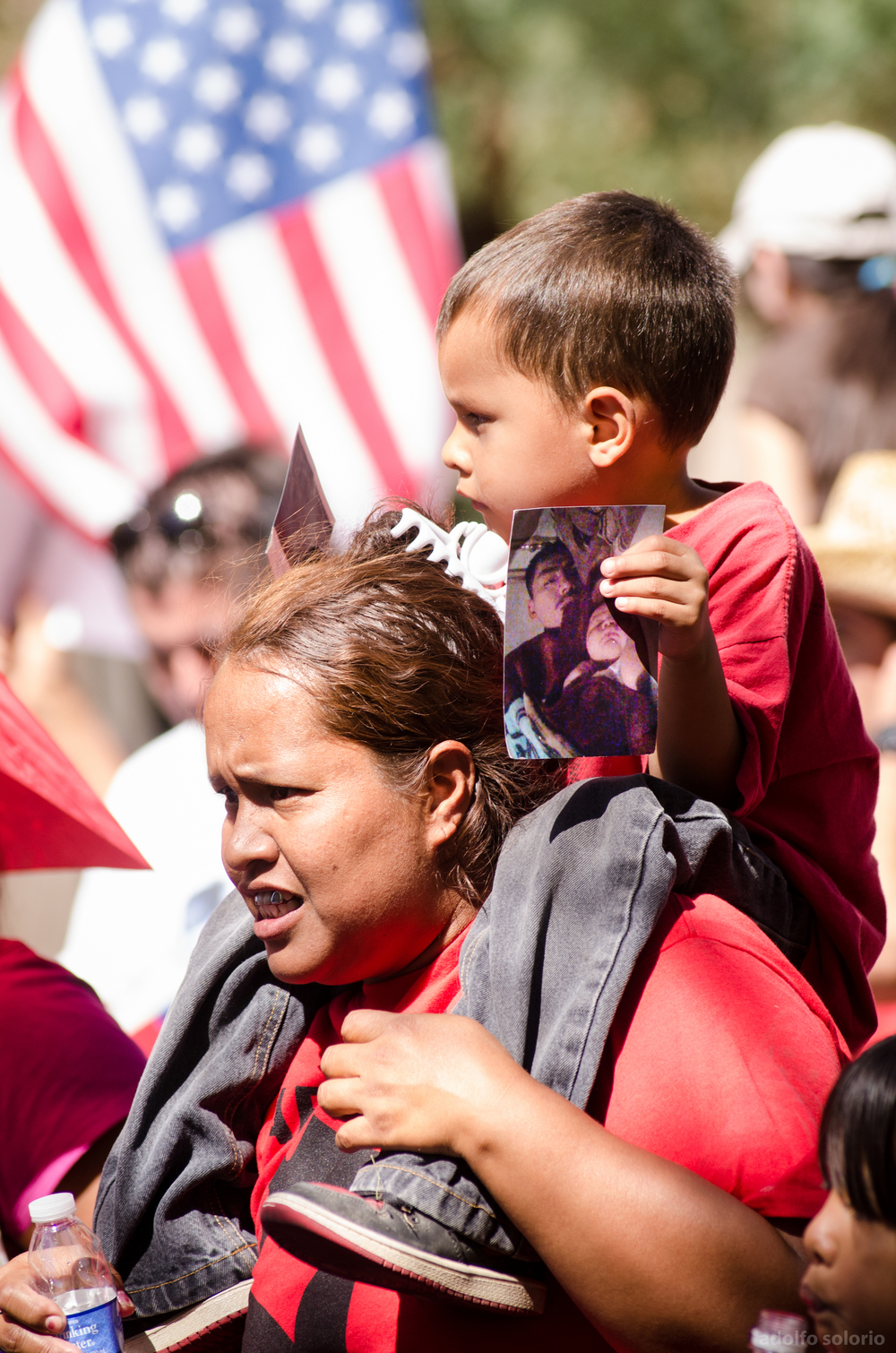 SB 1070 Protest in Downtown Phoenix -