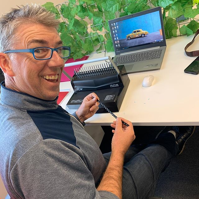 Peter from Portfolio Partners NZ smashing out some policies for new clients! A happy chappy!! 🚀 🚀 🚀 🚀 #nichesharedspace #coworking #sharedspace #rangiora #northcanterbury #community #collaboration #portfoliopartnersnz #happychap #insurance