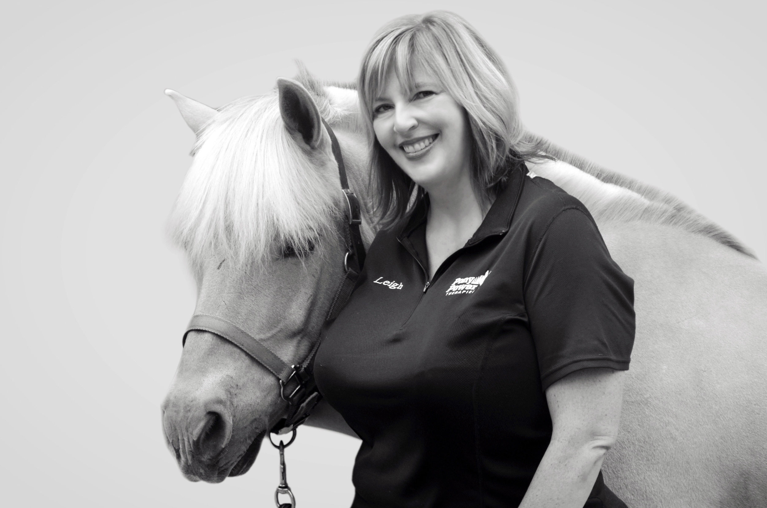 Leigh began volunteering with Pony Power in 2009. Seeing students make progress and grow stronger as a result of therapeutic horseback riding inspired her to resume her own riding education and pursue certification as a PATH International instructor in 2011. Leigh holds a bachelor's degree in journalism from Louisiana State University. She brings nearly 20 years of publications and communications experience to her role as program development director.