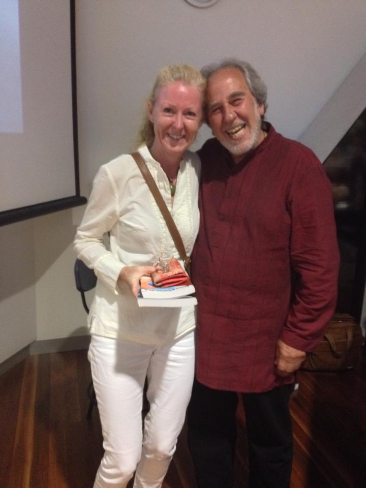 The totally awesome Dr Bruce Lipton