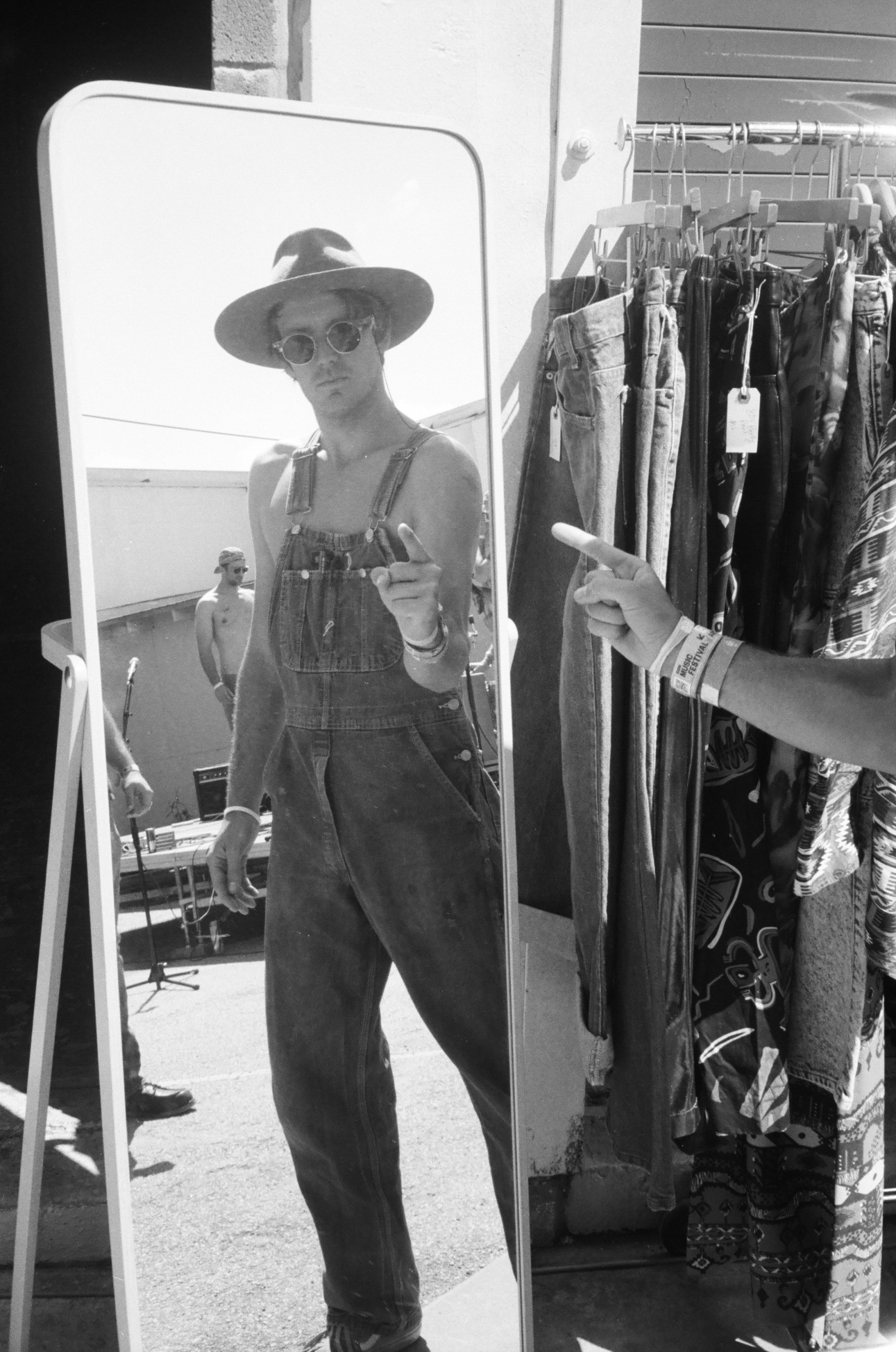 """Levi Prairie of Distractor SXSW"" Austin, Texas 35mm 2017"