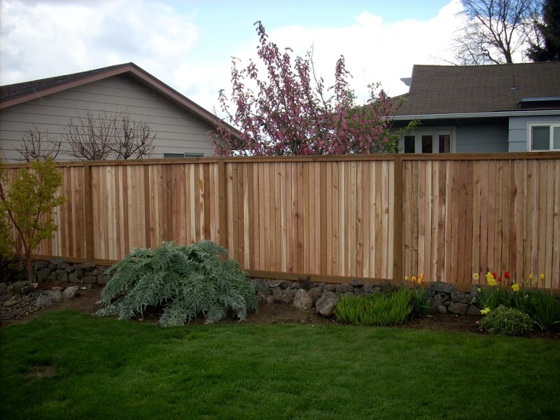 Picture Frame Fence