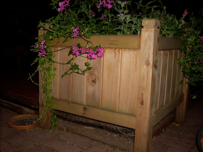 Custom Planter Boxes Made To Order