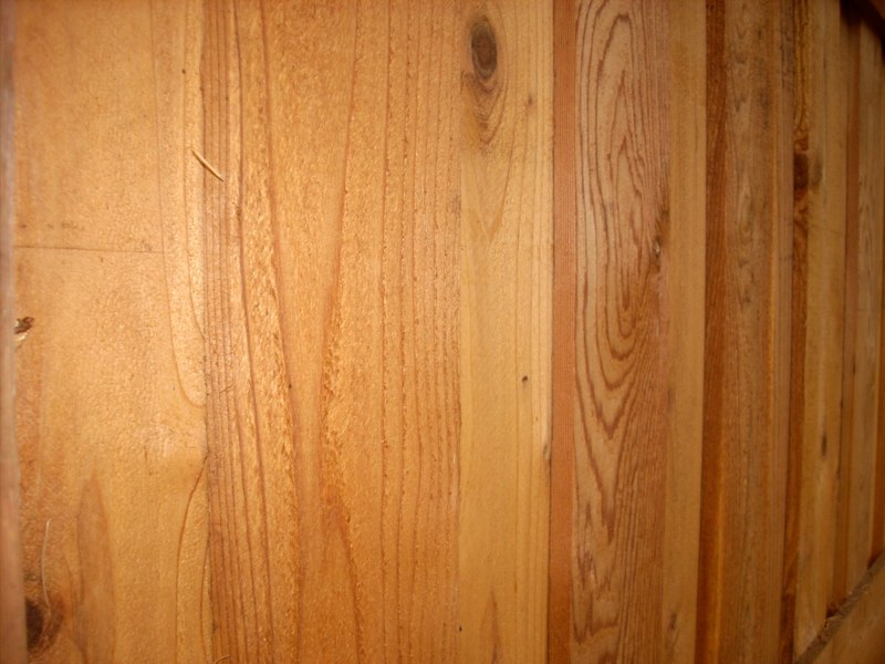 Clear Stained Cedar
