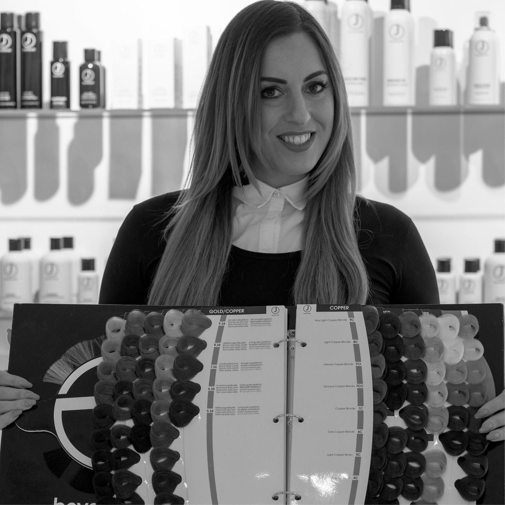 Joy Koning - Brand Educator J Beverly HillsVerso Hairdesign, Vinkeveenwww.versohairdesign.nl