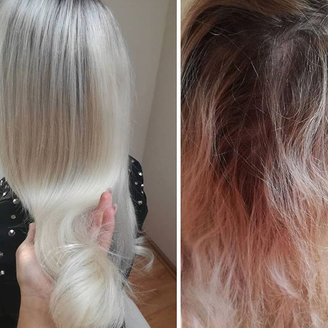 Before & After ELI COLOUR by @max_eli_czech !  _ _  #beforeandafter #elicolour #nofilter #haircolor #haircolour #hairdresser #blondehair #blonde #silverhair #longhair #healthy #hair #nofilter #hairpaint #thebest #hairblogger #seeyourstylist #revolutionary #whatadifference #want #behindthechair #modernsalon #happysunday #maxelieurope