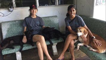 FAST AND SLOW   Despite their funny nicknames, Farzanah and Xin Xian  are amazing student volunteers. Joining us at events, helping us out with our Social Media Feed and volunteering at the shelter on a weekly basis, they have become an essential part of our team at ALL.