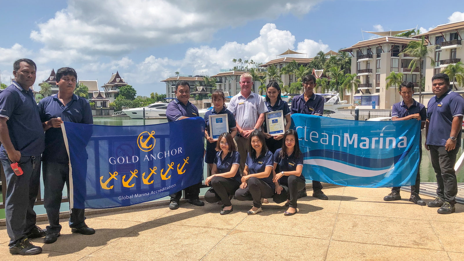 RPM awarded 5 Gold Anchors and Clean Marina