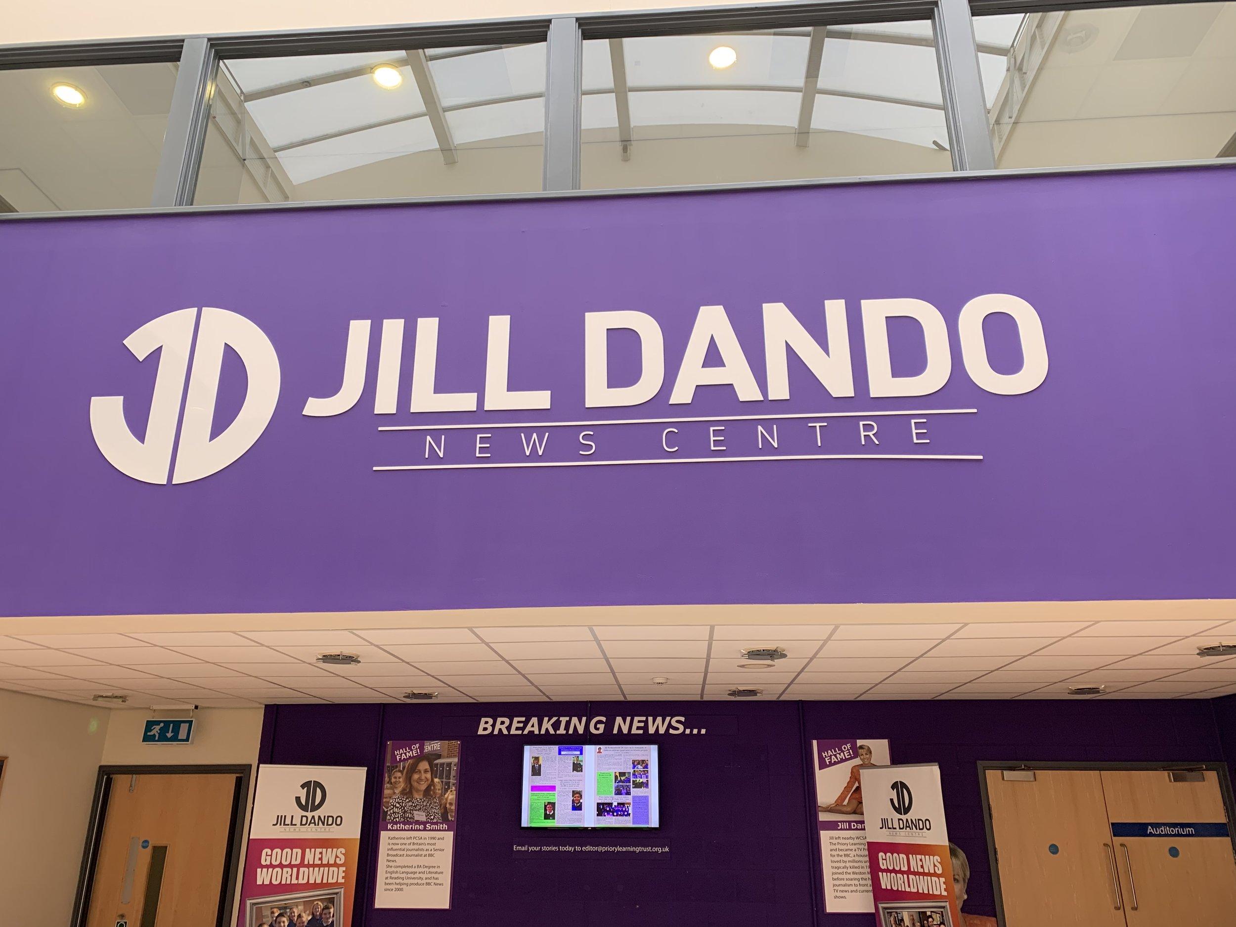 Jill Dando News Centre at PCSA