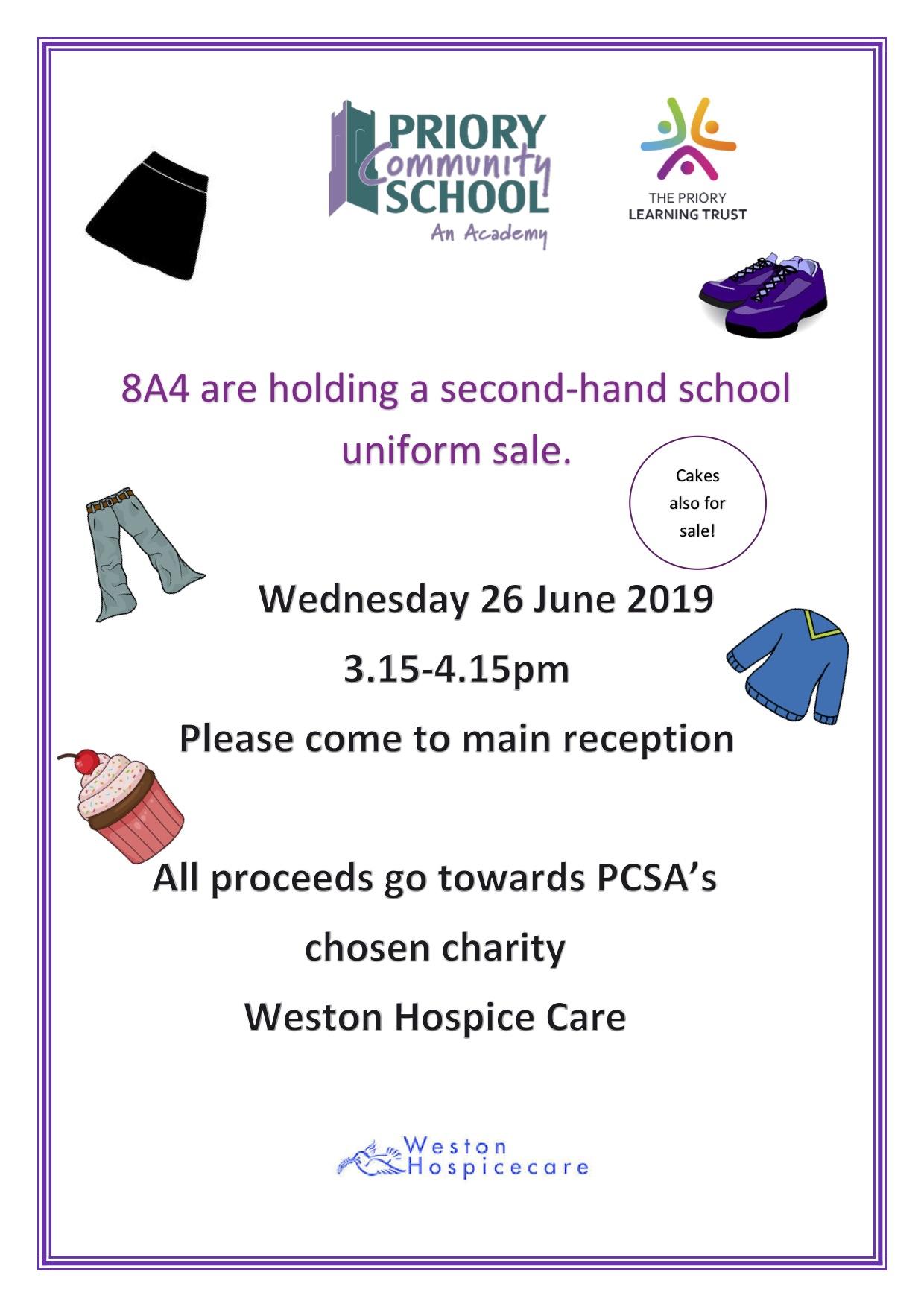 8A4 Priory Community School Uniform Sale 26.6.2019.jpg