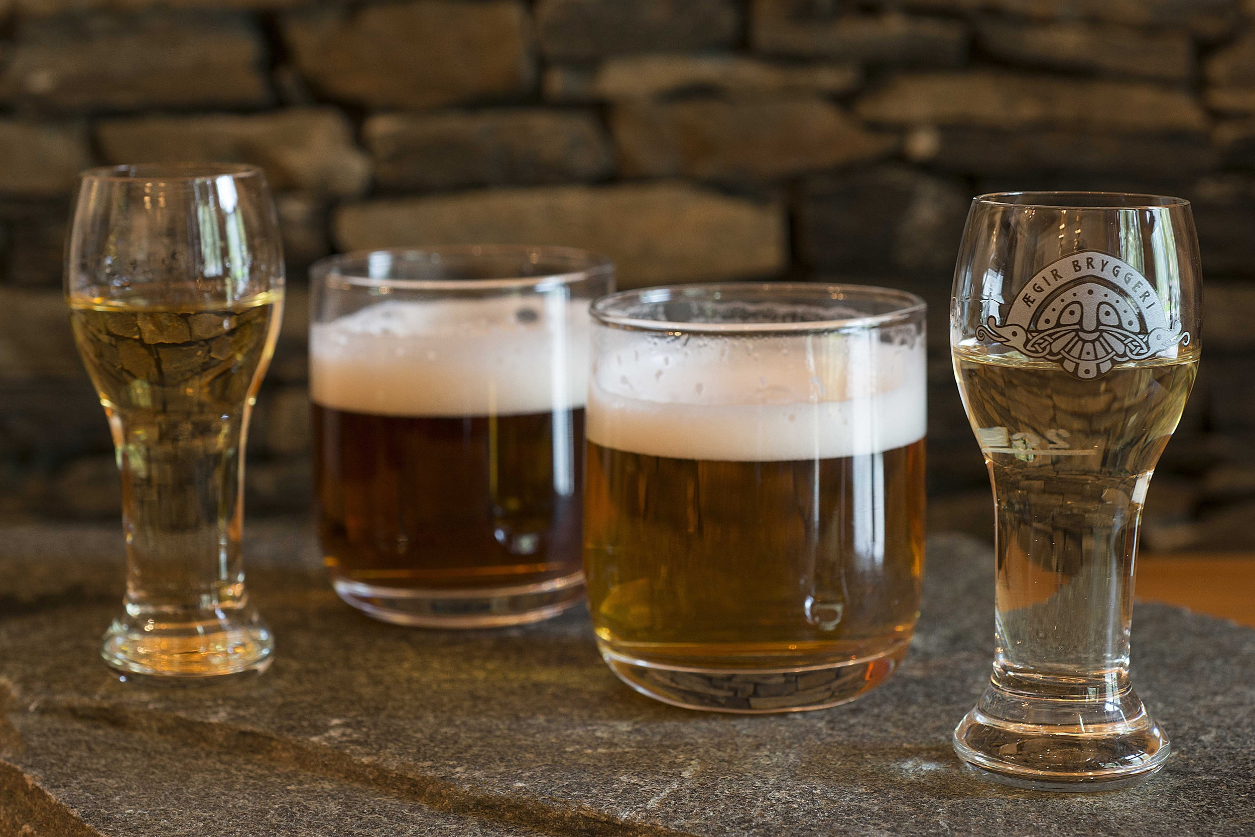 Beer and aquavit tasting - Listen to and be part of the Ægir story, and sample Ægir beer and aquavit – new seasonings, new flavours and new variations.On request all year!Duration: 45–60 mins.Venue: Ægir Tasting Room PeisestovaPrice: Nok 360 per person for groups of min. 15 persons, or NOK 5400 for smaller groups.