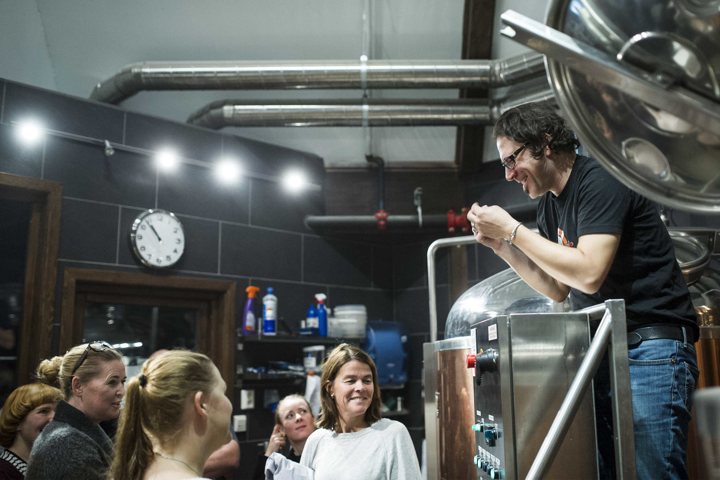 ægir brewery tour - Enjoy an educational tour of the production room of Ægir Brewery, test your beer knowledge and use your senses and discover a new world of smell and taste while tasting our popular Æger beers!