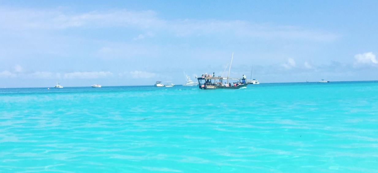 Nungwe Beach on Zanzibar Island, Tanzania