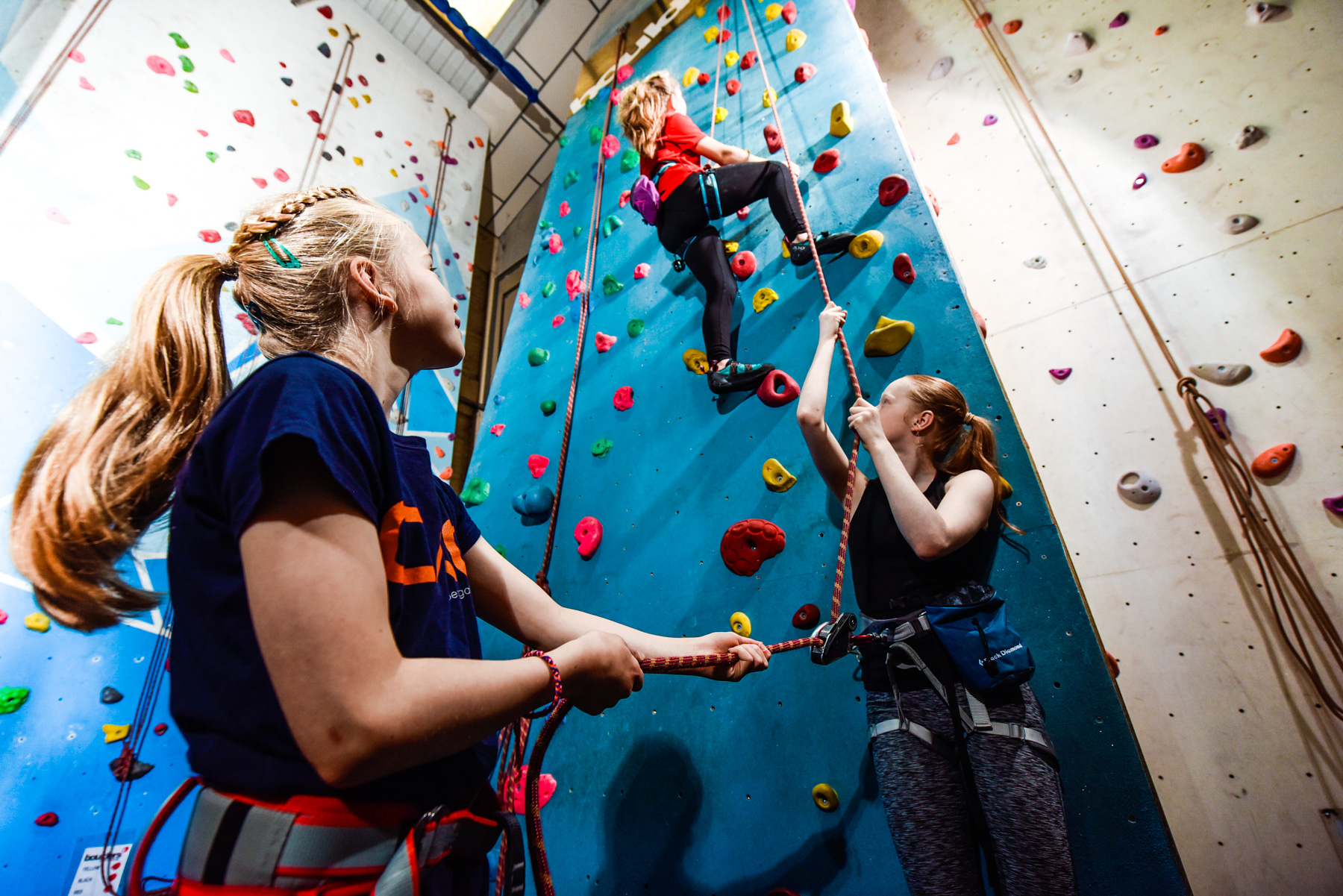 The Project 12+ Climbing Club -