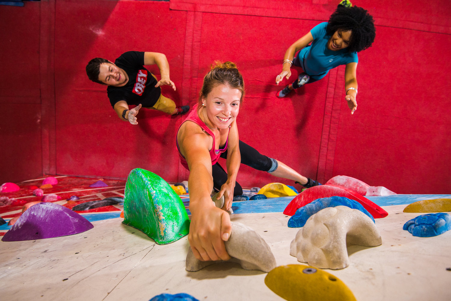 Give it a Go: Bouldering -