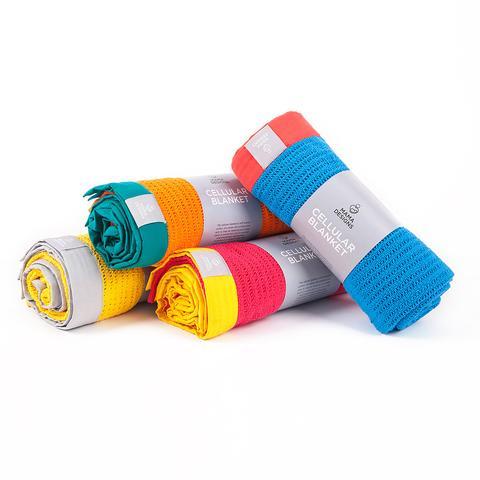 "Mama Designs ""Cellular Blankets"". I'm a big fan - I take mine everywhere with me!"