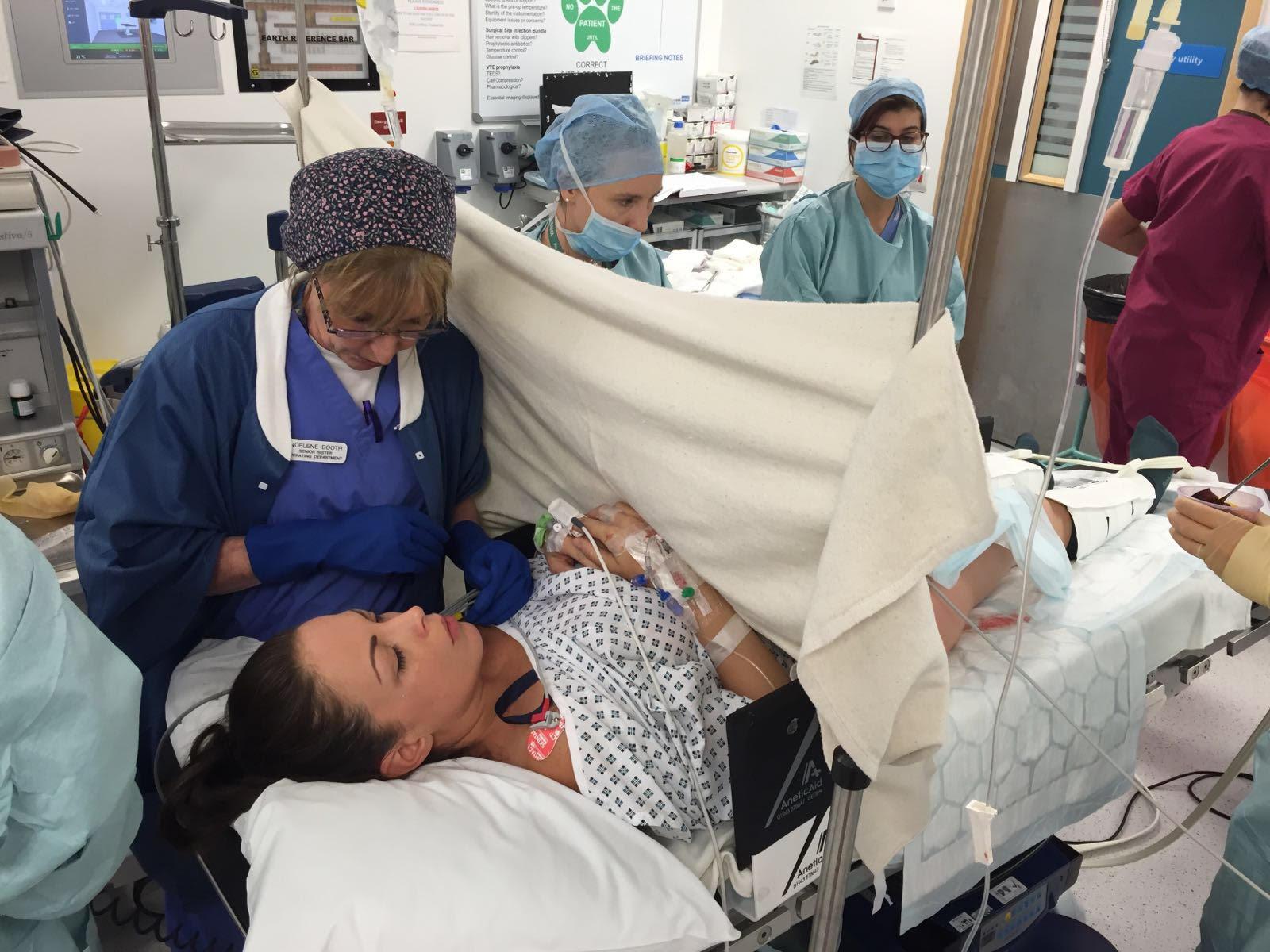 Caesarean birth in theatre operation.jpg