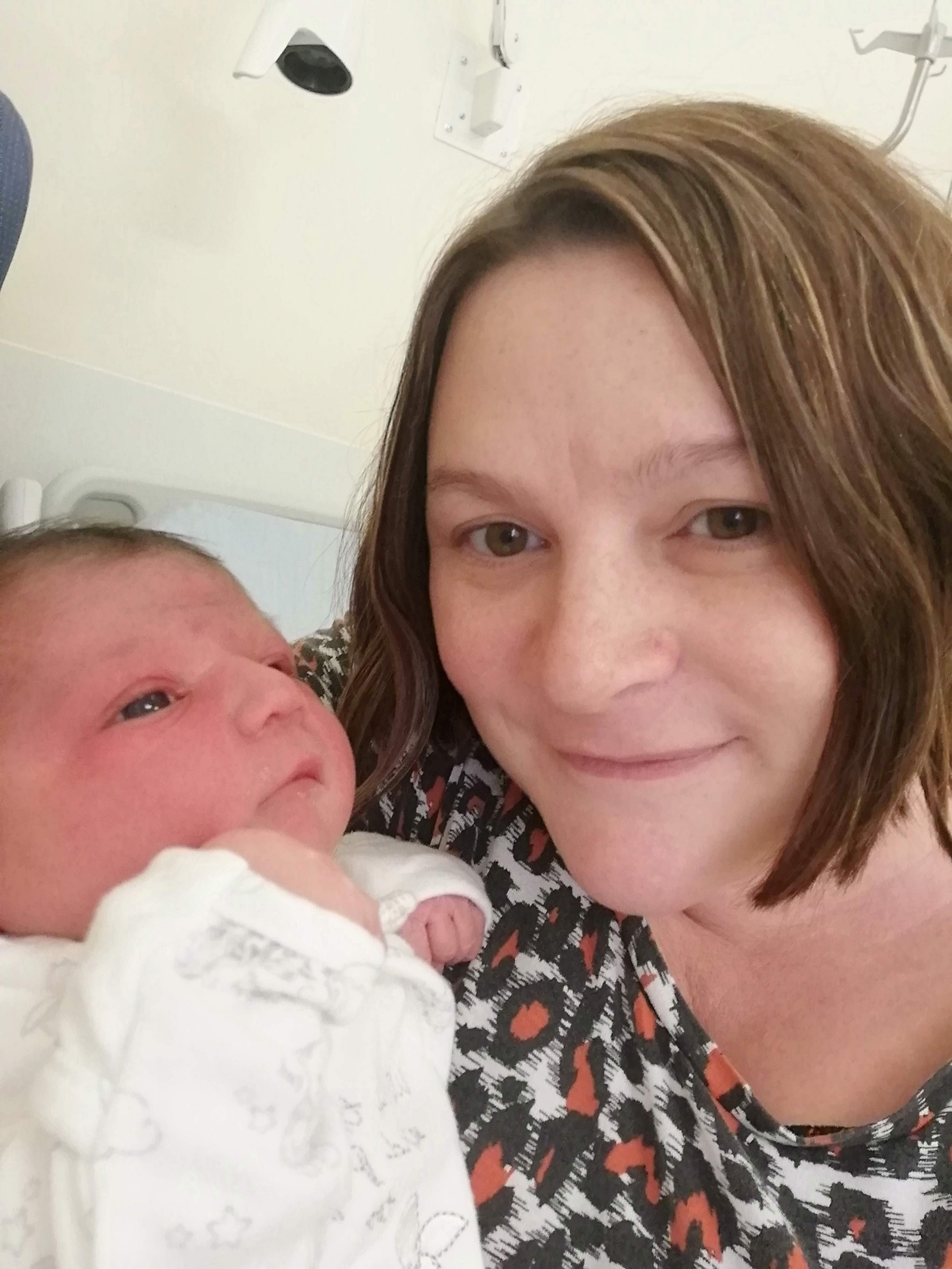 Newborn Birth Story Surrey Mother.jpg