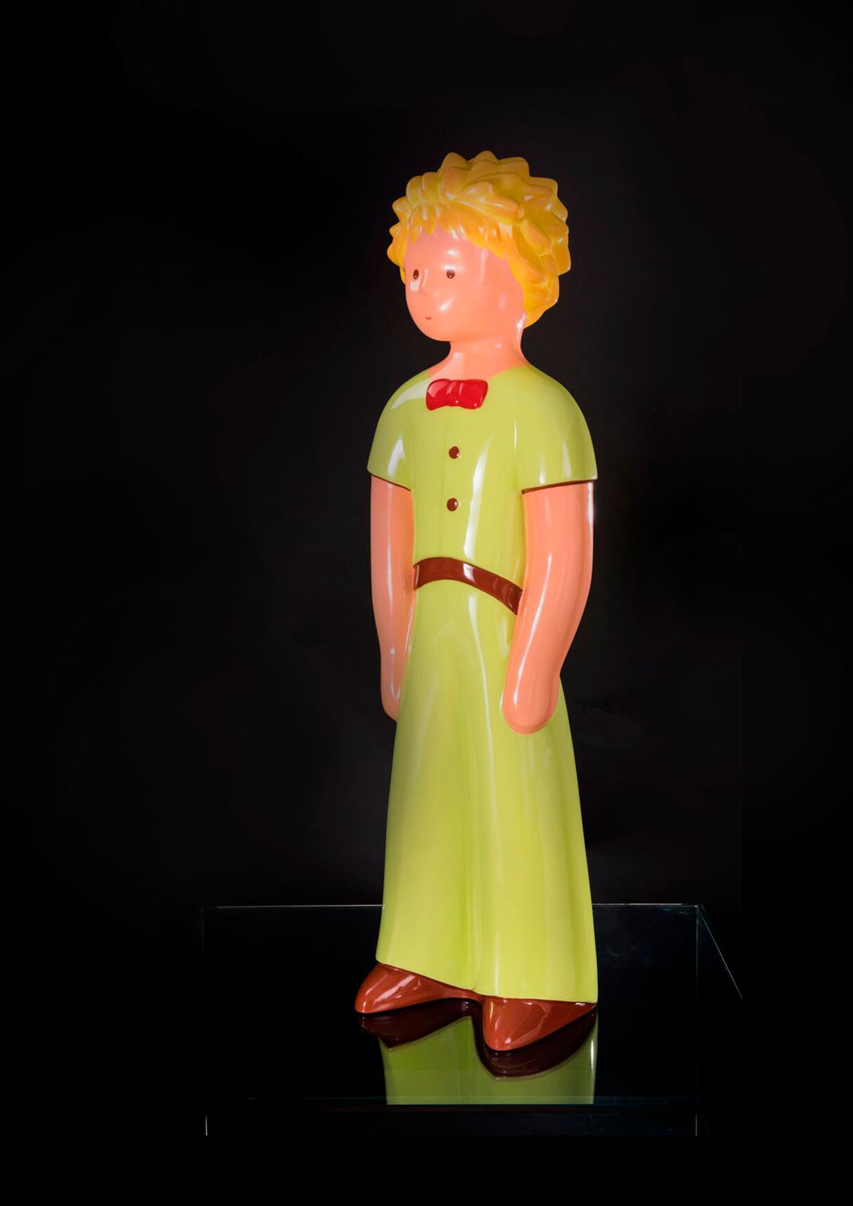 The Little Prince Standalone   Sculpture : (WxLxH)26 x32 x112cm-13 Kg.