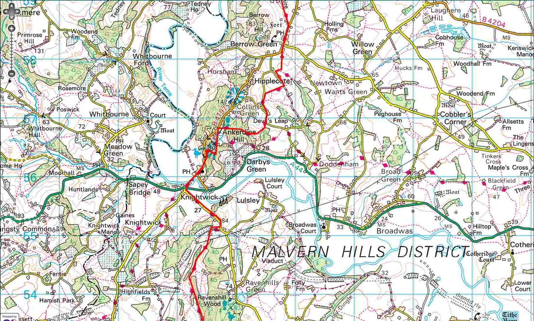 Worcestershire Way - Berrow Green to Ravenshill Wood