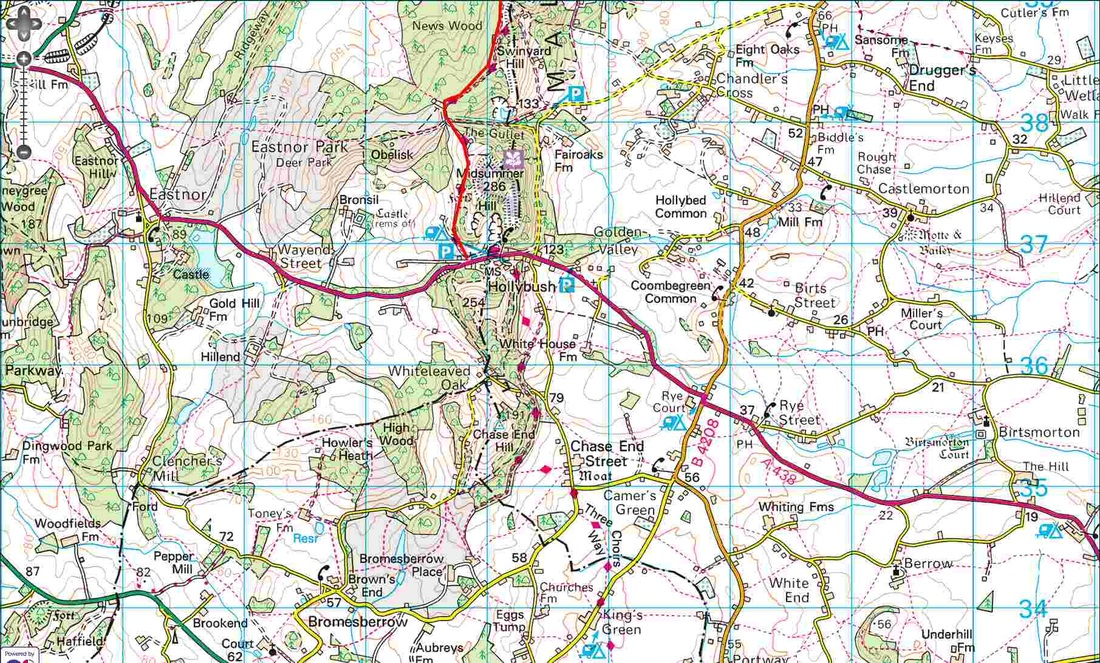 Worcestershire Way - News Wood to Hollybush