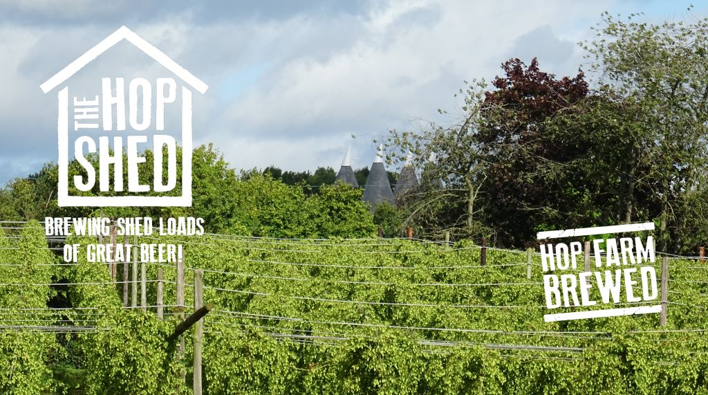 The best brewed beer in the UK comes from the Hop Shed in Suckley
