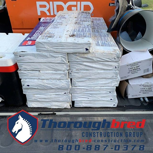 Truck is loaded and ready to go. . . #roofing #hardwork #irontonohio #ashland #ironton #hirelocal #leakyroof #huntingtonwv #roofingcompany #roofinglife #roof #constructioncompany #roofingcontractor #roofrepair #masterelite #gaf #roofingsystem #RoofingLifestyle #roofingcompanies #roofinspection #trustworthy #roofingcrew #roofingcontractors #roofingsolution #roofingdoneright #roofingseason #commercialroofing #residentialroofer #metalroof #metalroofer