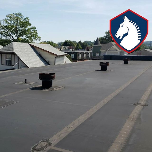 In need of a commercial roofing company? We've got you covered. . . #roofing #hardwork #irontonohio #ashland #ironton #hirelocal #leakyroof #huntingtonwv #roofingcompany #roofinglife #roof #constructioncompany #roofingcontractor #roofrepair #masterelite #gaf #roofingsystem #RoofingLifestyle #roofingcompanies #roofinspection #trustworthy #roofingcrew #roofingcontractors #roofingsolution #roofingdoneright #roofingseason #commercialroofing #residentialroofer #metalroof #metalroofer