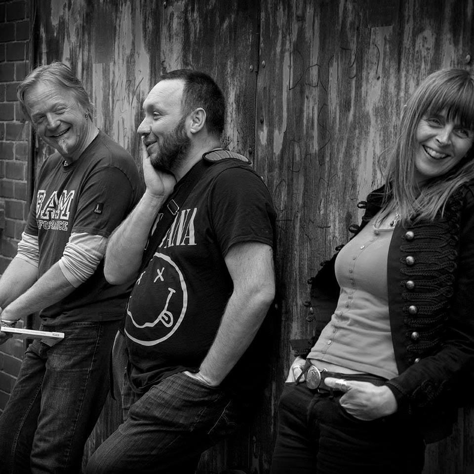 Steve Pottinger, Dave Pitt and Emma Purshouse