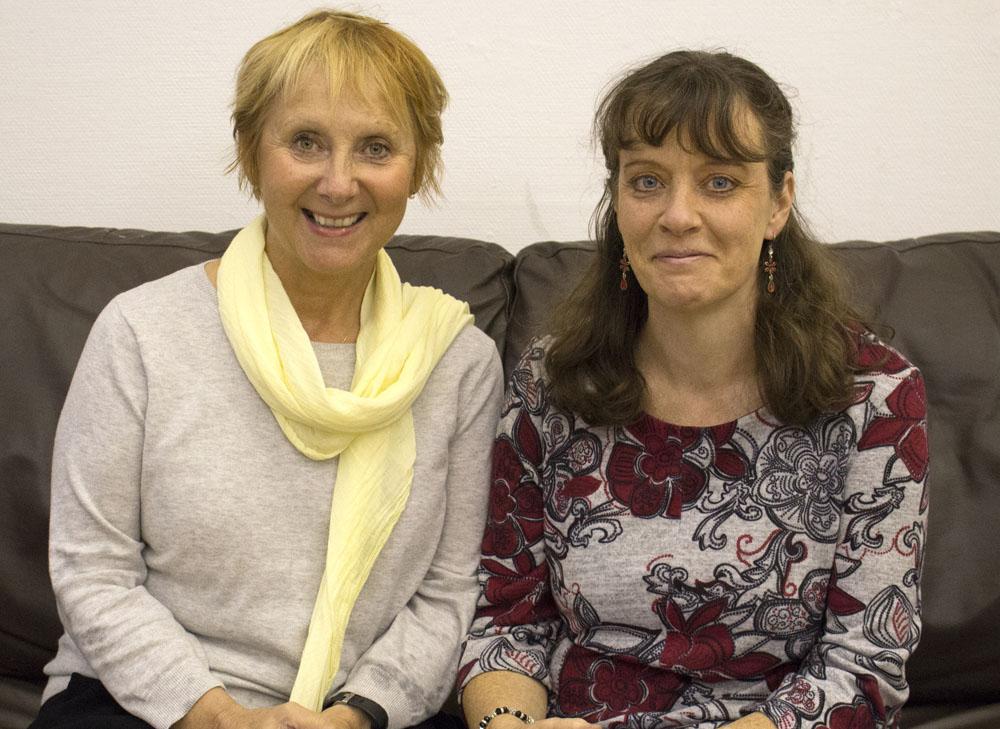 Liz Hoggarth & Sue Brisco