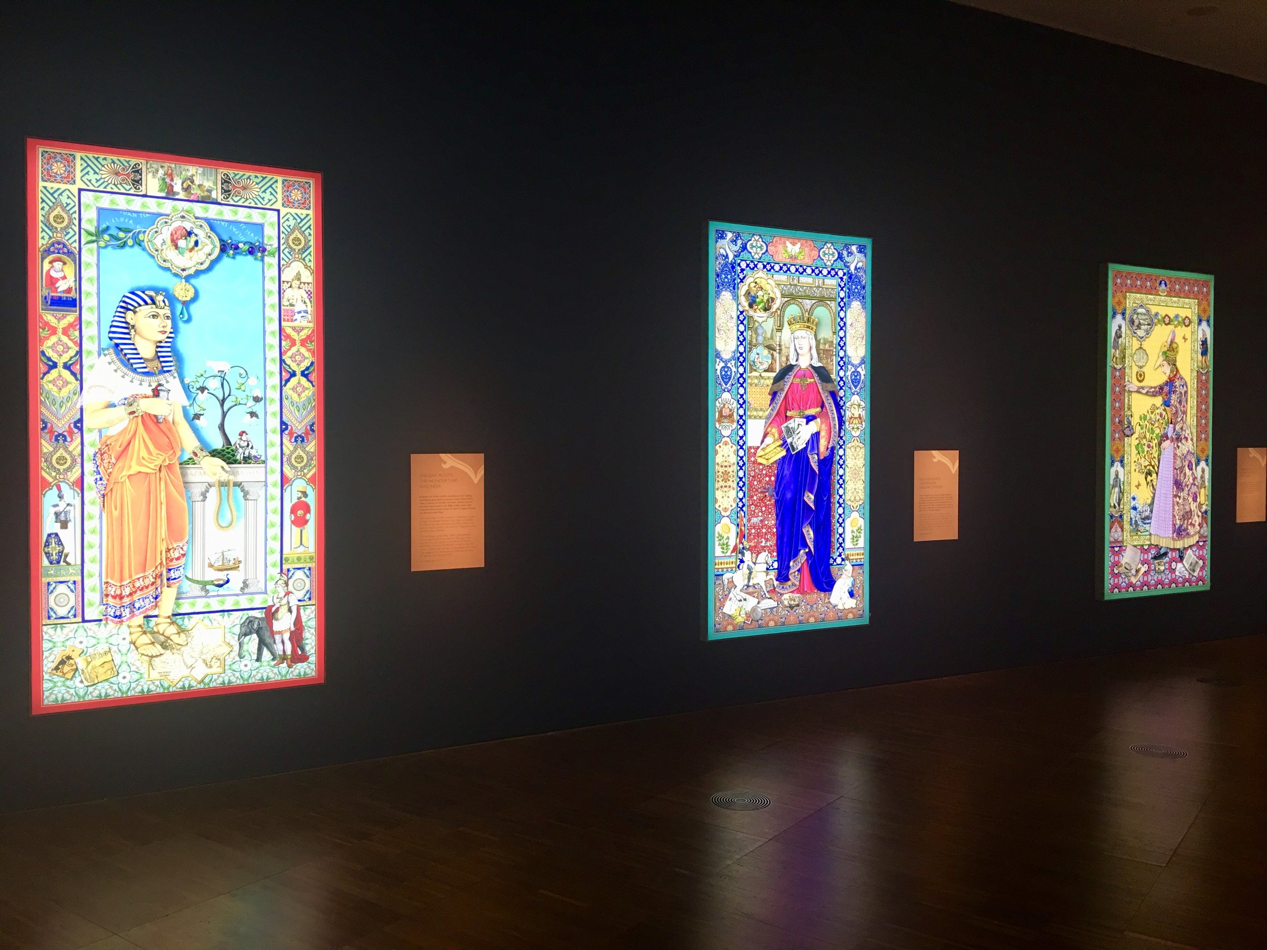 The Singh Twins stunning light panels