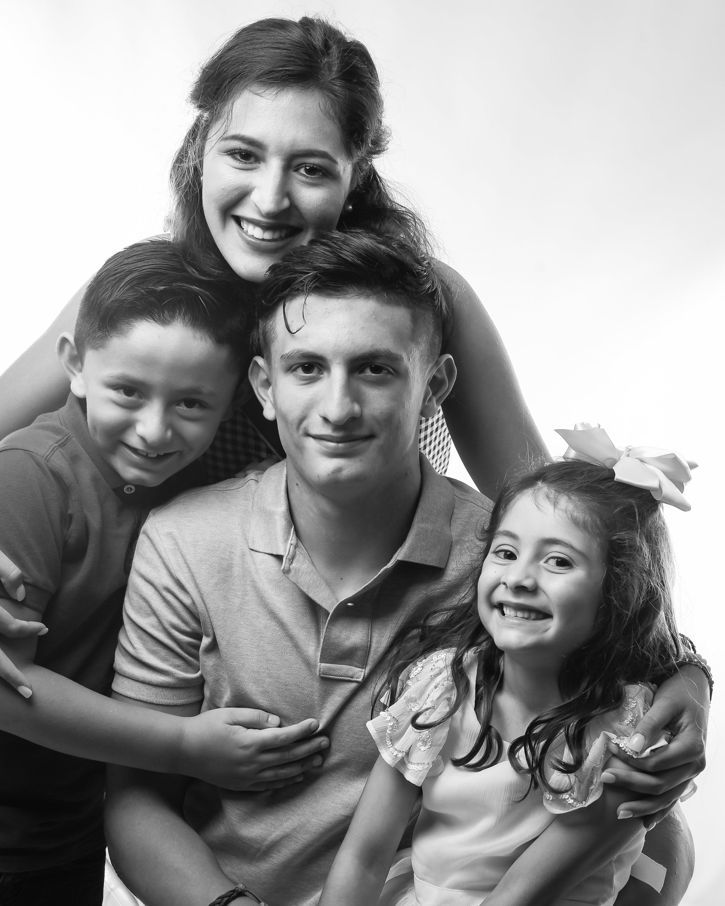 Studio Light | Family Portrait Photography | Azhar Photography