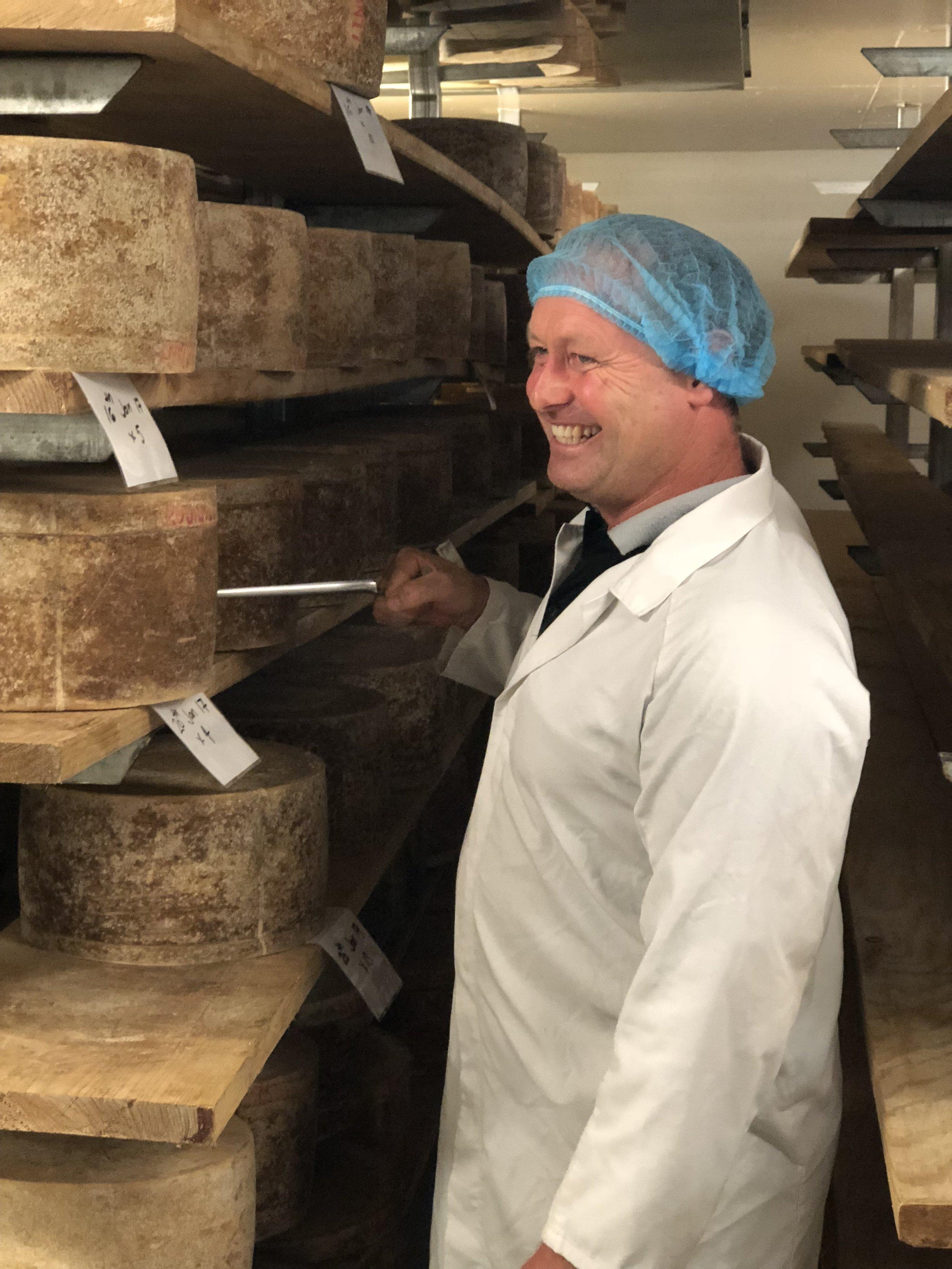 PYENGANA DAIRY cheese expert Jon Healey .JPG